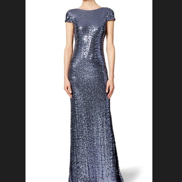 49% off Badgley Mischka Dresses Badgley Mishka Sequin Evening Gown ...